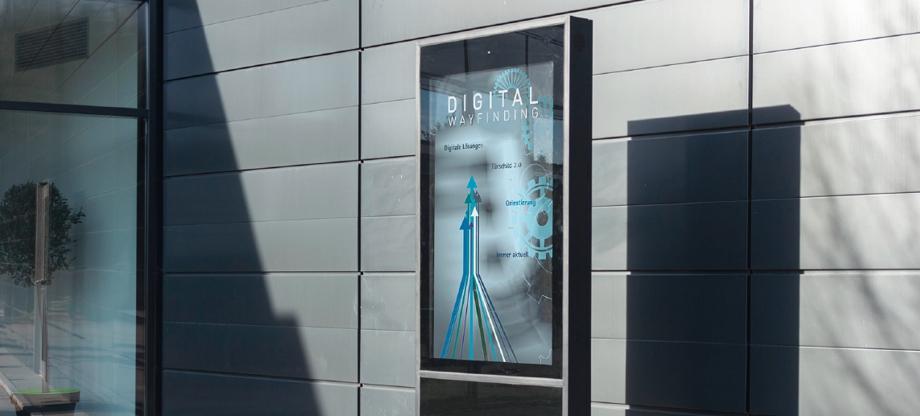Digitale Beschilderung